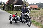 Motorradfahren mit Hund